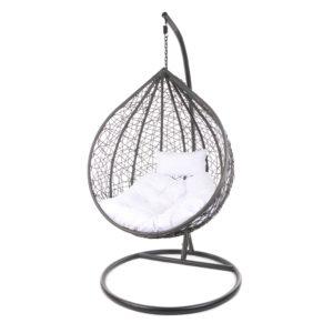 Gestell Manacor grau mit weißem Kissen