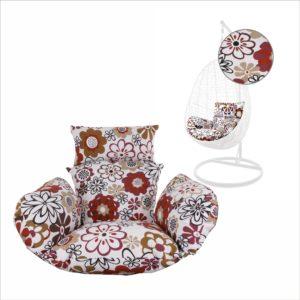 Kissen für Hängesessel NEST retro blumen (3762 retro flowers)