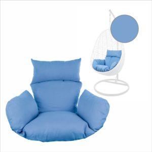 Kissen für Hängesessel NEST blau (3070 royal blue)