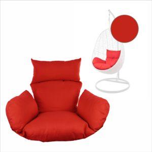 Kissen für Hängesessel NEST rot (3050 scarlet)