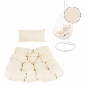 Chesterstepp-Kissen Galerieansicht elfenbein (0050 ivory)